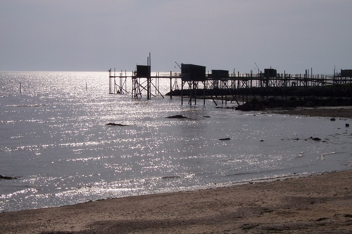 cabanes de pêche au carrelet